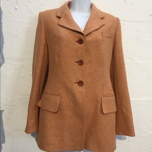 Escada element size 34 jacket wool blazer vintage